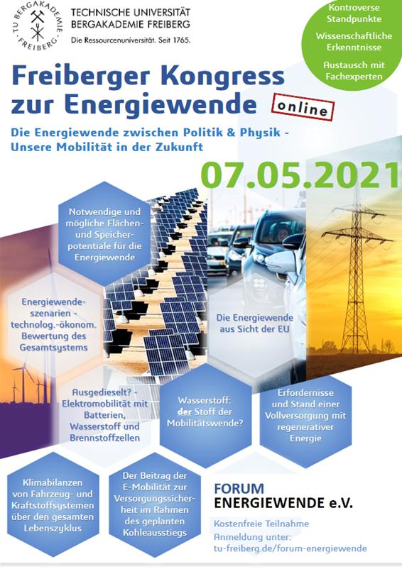 Die Energiewende zwischen Politik & Physik - Unsere Mobilität in der Zukunft @ Digitale Veranstaltung